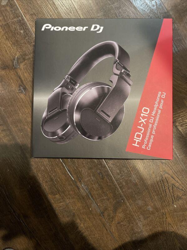 Pioneer DJ HDJ-X10 Professional Over-Ear DJ Headphones Black