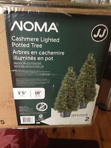 2 boxes of never used indoor/outdoor cashmere potted trees.  Kingston Kingston Area image 1