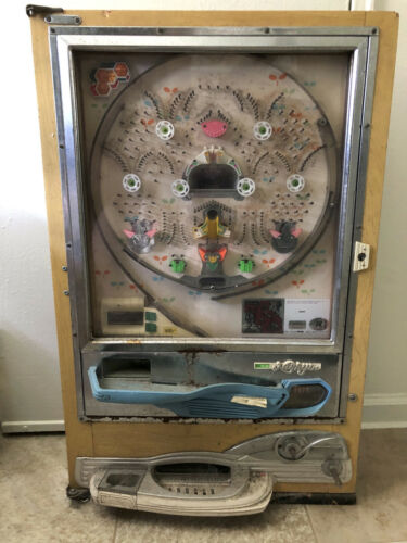 Nishijin pachinko machine from the 1970s