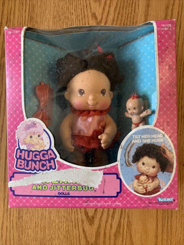 Hugga Bunch Tweaker And Jitterbug Dolls (RARE!) 1986