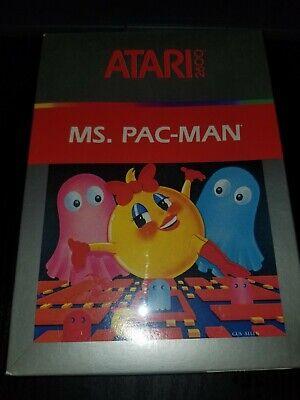 Ms. Pac-Man (Atari 2600, 1982) Factory Sealed, NIB!