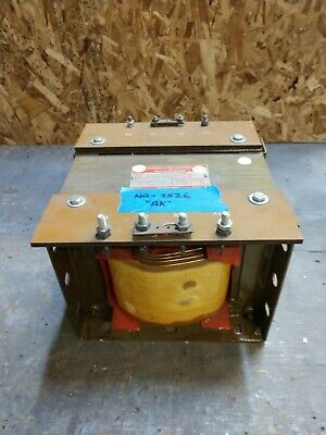 Ge 10kva Transformer 1 Single Phase 240v480v-120v240v Delta Core Only Ak