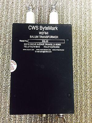 Balun 1:1 High Power 5Kw, Designed by Jerry Sevick W2FMI