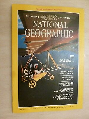 National Geographic- THE BIRD MEN - August 1983