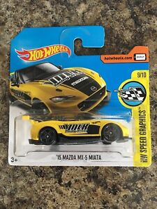 Hot Wheels '15 Mazda MX-5 Miata Short Card