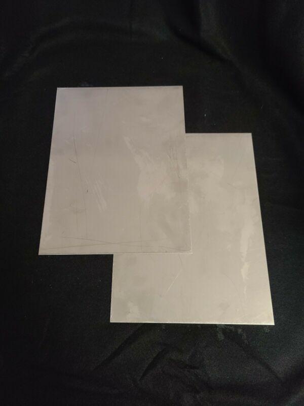.060  Aluminum Sheet Metal Plate. 24 X 36.  1/16 Aluminum Flat stock. 1 PC  F/S