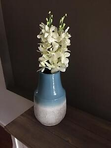 Hand painted vase with flowers Mount Annan Camden Area Preview