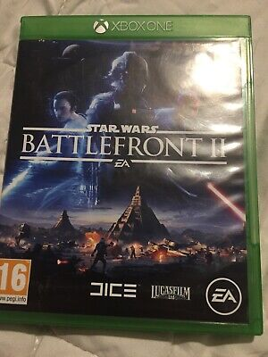 EXCELLENT  CONDITION ( STAR WARS - BATTLEFRONT 2 )  XBOX ONE  GAME