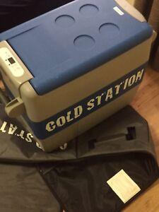50L cold station fridge freezer