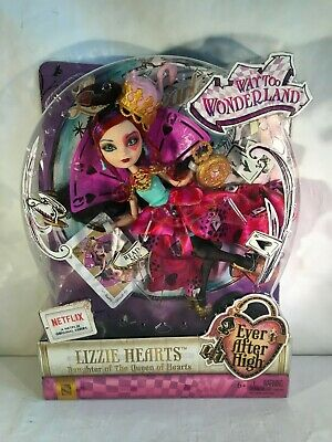 Ever After High Lizzie Hearts Doll Way To Wonderland Toys NEW