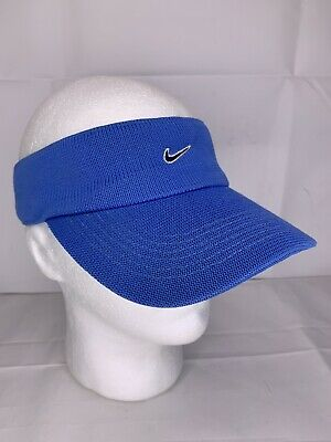 5761f62e299a7 Nike Golf Light Blue Visor Hat Adjustable Hook and Loop