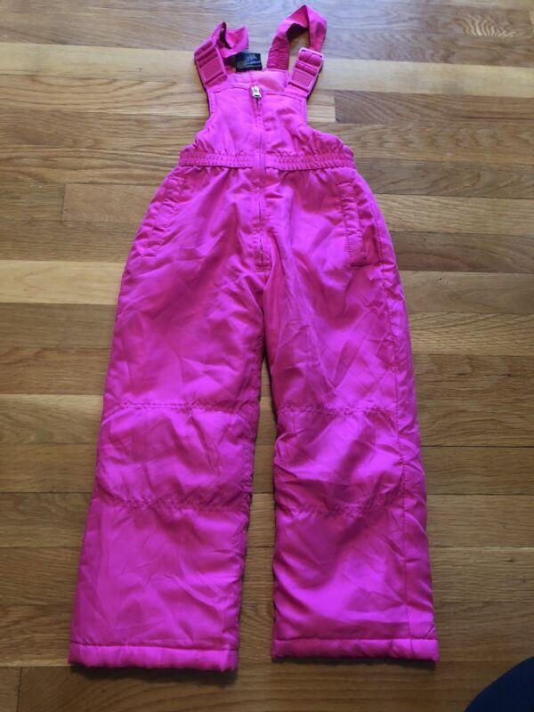 Snow Suit Girls Euc Pink Sz 4t