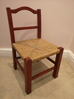 Vintage Wooden Little Chair 30x30x53cm