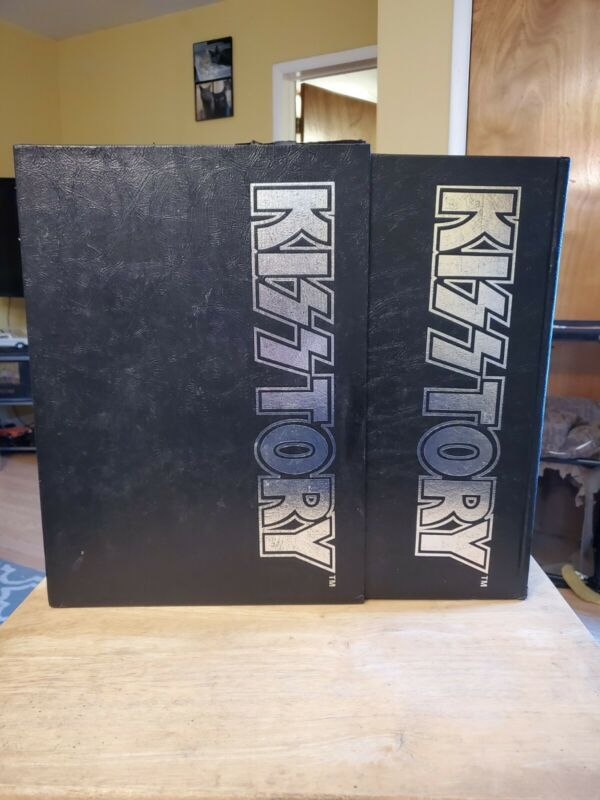 KISStory Hardcover Signed By Original Members