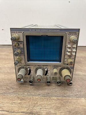 Tektronix Tm 500 Series Plug-in Module Sc 503 10 Mhz Storage Oscilloscope