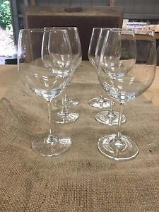 XL Crystal Wine Glasses 550ml - Rustic Country Wedding Dural Hornsby Area Preview