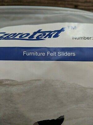 24PCS Furniture Sliders 2.5 Inch Felt Sliders Furniture Pads for Hardwood Floors