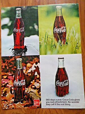 1971 Coke Coca-Cola Ad  365 Days a Year