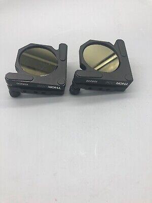 Thorlabs Km200 - Kinematic Mirror Mounts For 2 Optics 2qty Lot 0504-1