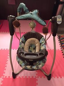 Graco swing with music