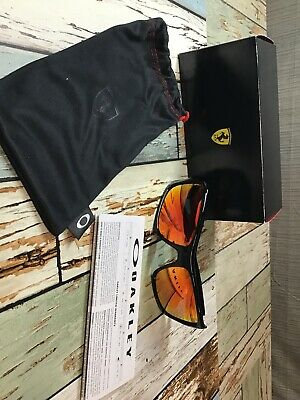 Oakley Turbine Scuderia Ferrari Polished Black - Sunglasses - OO9263-3963