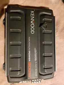 KENWOOD 4/3/2 CHANNEL AMP 500W Hampton Park Casey Area Preview