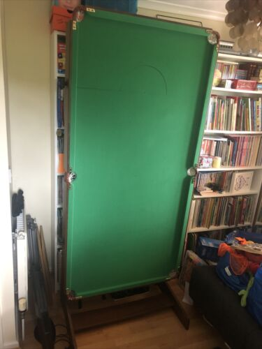 6ft folding snooker and pool table