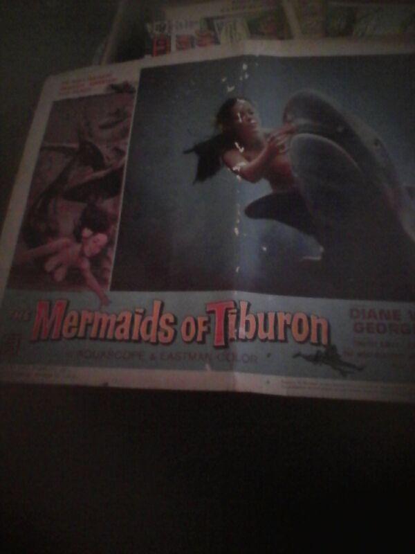 mermaids of Tiburon lobby card original