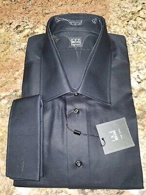 Nwt $150.00 Ike Behar New York Dress Shirt 18.5 34/45