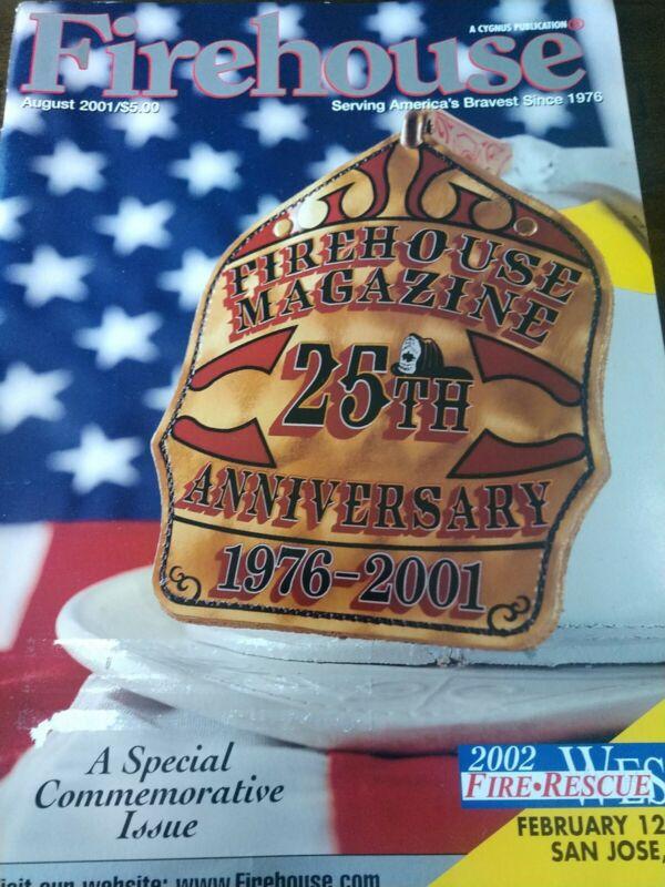 firehouse magazine August 2001
