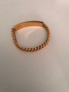 24ct solid gold bracelet