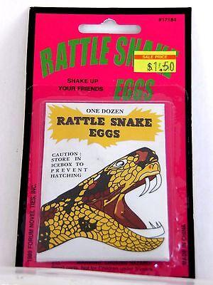 Trick Or Treat Jokes Halloween (Rattlesnake Fake Eggs Joke Prank Halloween Party Trick Or Treat )