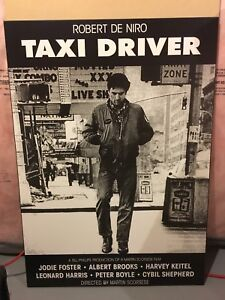Taxi Driver film/movie Poster laminated