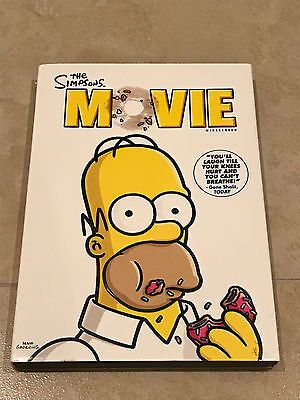 The Simpsons Movie (DVD, 2009, Widescreen) Homer Simpson Spider Pig Bart Marge