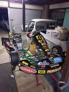 Go kart, tony kart 125 cc Woodbine Campbelltown Area Preview