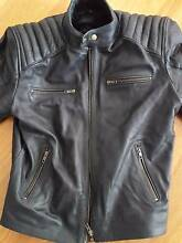 Mens Leather Motorcycle Jacket Small Woongarrah Wyong Area Preview