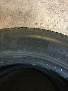 215/55/17 good condition tow pair tires 70%