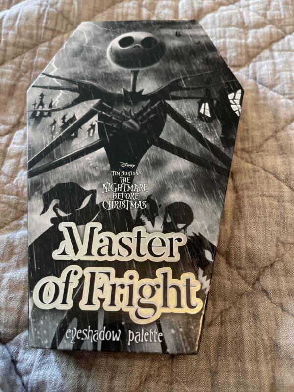 Nightmare Before Christmas Jack Skellington Eyeshadow pallet Master Of Fright