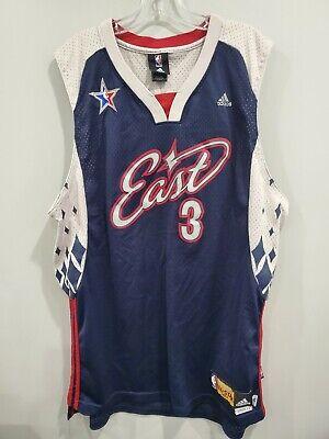 Rare Adidas NBA Miami Heat Dwyane Wade 2007 East All-Star Game Jersey Mens XL