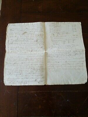 RARE 1780 NORTH CAROLINA REVOLUTIONARY WAR ERA ODD PAPER  MULTI RECEIPT?