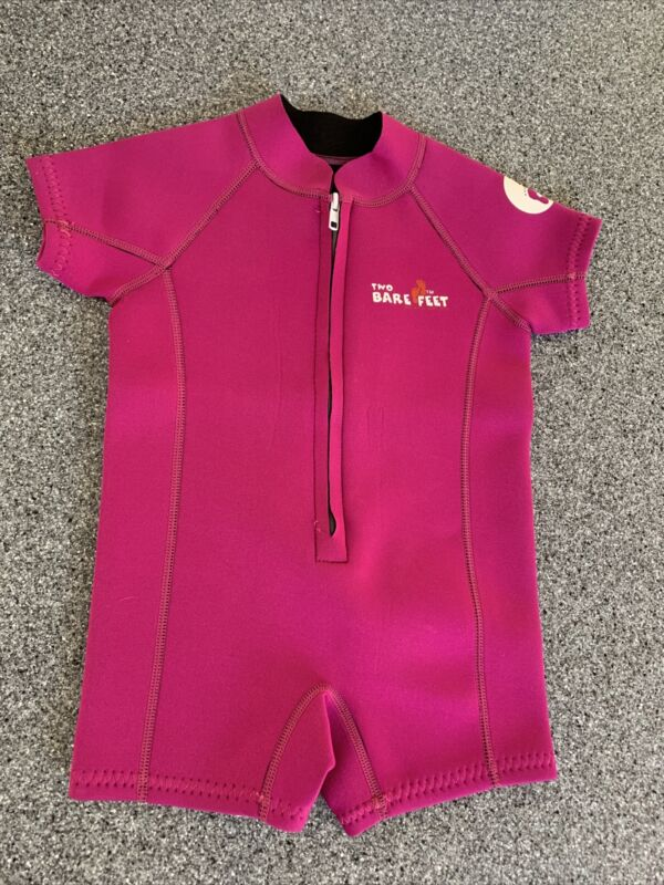 Two Bare Feet Baby Wetsuit Age 12-18 Months Swimming Uv Swim Suit
