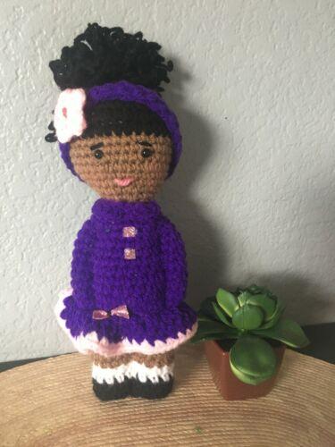 Beautiful crochet doll, handmade.