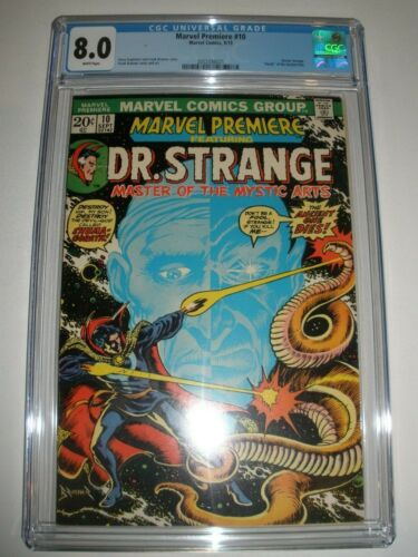 Marvel Premiere # 10 CGC 8.0 Death of Ancient One