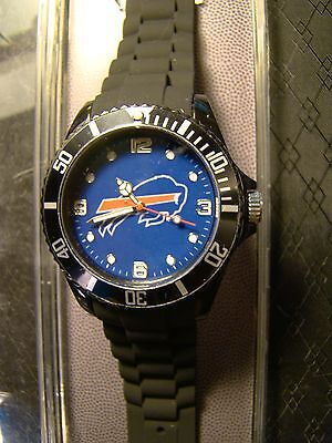 Brand New Buffalo Bills Football Nfl Sparo Sports Watch Rotating Bezel