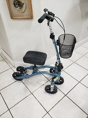 SWIVELMATE 5 WHEEL KNEE SCOOTER WITH 90 DEGREE STEERING. VERY STABLE!!!!!!