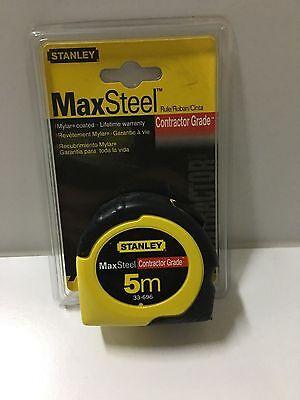 Max Steel Tape Measure - NEW STANLEY 33-696 5/8
