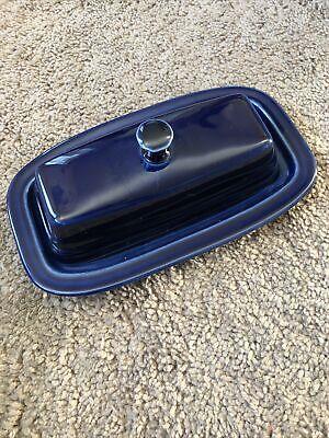 Fiesta Fiestaware Hlc Cobalt Blue Covered Butter Dish