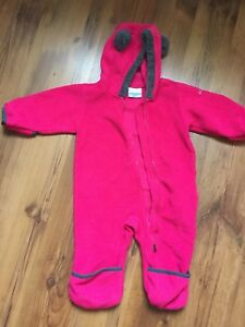 Columbia 6-12 fleece One piece