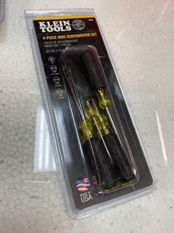 Klein Tools 85484-4 PIECE MINI CUSHION GRIP SCREWDRIVER SET
