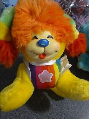 Vintage 1983 Puppy Brite Rainbow Brite Plush Dog 12